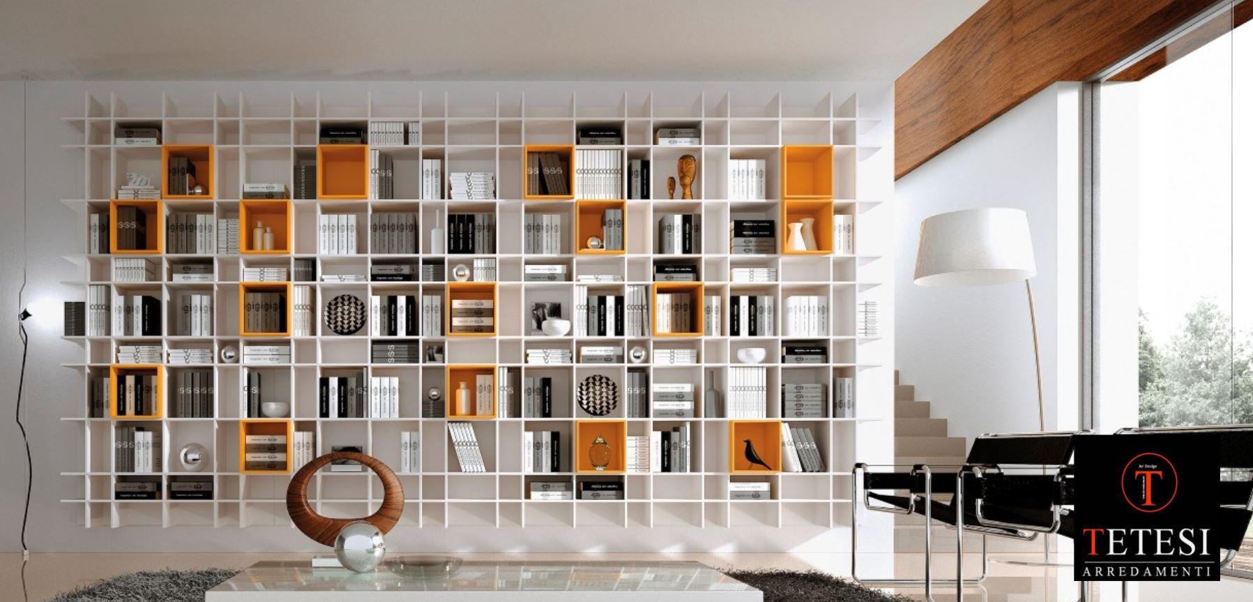 Libreria moderne interesting libreria moderne with for Offerte librerie moderne